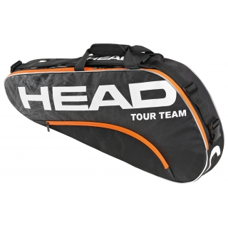 Head Tour Team Pro Tennis Bag (Blk/ Org)