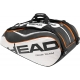 Head Tour Team Monstercombi Tennis Bag (Blk/ Wht/ Org) - New Head Arrivals