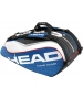 Head Tour Team Monstercombi Tennis Bag (Nvy/ Wht/ Red) - New Head Racquets, Bags, and Hats