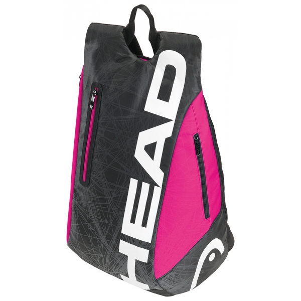 Head Tour Team Tennis Backpack (Blk/ Pnk)