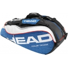 Head Tour Team Combi Tennis Bag (Nvy/ Wht/ Red) - Tennis Racquet Bags
