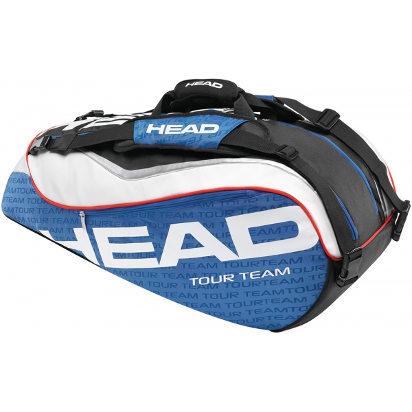 Head Tour Team Combi Tennis Bag (Nvy/ Wht/ Red)