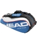 Head Tour Team Combi Tennis Bag (Nvy/ Wht/ Red) - 6 Racquet Tennis Bags