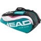 Head Tour Team Combi Tennis Bag (Teal/ Wht/ Pnk) - New Head Arrivals