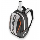 Head Tour Team Tennis Backpack (Silver/Black) - Head Tour Team Series Tennis Bags