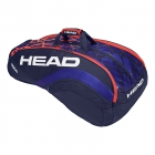 Head Radical 12R Monstercombi Tennis Bag (Blue/Orange) - Head Radical Series Tennis Racquet Bags
