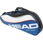 Head Tour Team Pro Tennis Bag (Nvy/ Wht/ Red) - 3 Racquet Tennis Bags