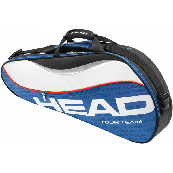 Head Tour Team Pro Tennis Bag (Nvy/ Wht/ Red)