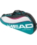 Head Tour Team Pro Tennis Bag (Teal/ Wht/ Pnk) - New Head Racquets, Bags, and Hats