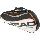 Head Tour Team Pro Tennis Bag (Blk/ Wht/ Org) - Tennis Racquet Bags