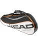Head Tour Team Pro Tennis Bag (Blk/ Wht/ Org) - New Head Racquets, Bags, and Hats