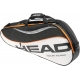 Head Tour Team Pro Tennis Bag (Blk/ Wht/ Org) - 3 Racquet Tennis Bags
