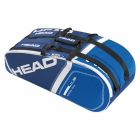 Head 2015 Core Combi Bag (Blue) - 6 Racquet Tennis Bags