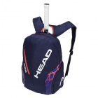 Head Radical Rebel Tennis Backpack (Blue/Orange) - Head Radical Series Tennis Racquet Bags