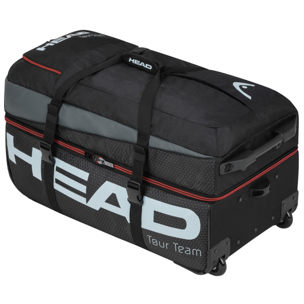 Head Tour Team Tennis Travelbag (Black/Grey)