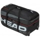 Head Tour Team Tennis Travelbag (Black/Grey) - Tennis Travel Duffel Bags