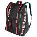 Head Tour Supercombi Pickleball Bag (Black/Teal) - Shop the Best Selection of Pickleball Bags, Backpacks & Totes