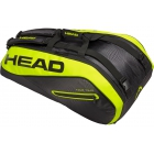 Head Tour Team Extreme 9R Supercombi Tennis Bag (Black/Yellow) - Head Extreme Series Tennis Bags