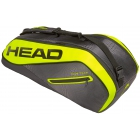 Head Tour Team Extreme 6R Combi Tennis Bag (Black/Yellow) - Head Extreme Series Tennis Bags