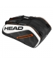 Head Tour Team 12R Monstercombi Tennis Bag (Black/White) - Head Tennis Bags