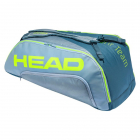 Head Tour Team Extreme 9R Supercombi Tennis Bag (Green/Yellow) -