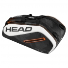 Head Tour Team 9R Supercombi Tennis Bag (Black/White) - Tennis Bags on Sale