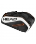 Head Tour Team 9R Supercombi Tennis Bag (Black/White) - Head Tennis Bags