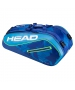 Head Tour Team 9R Supercombi Tennis Bag (Blue/Blue) - Head Tennis Bags