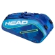 Head Tour Team 9R Supercombi Tennis Bag (Blue/Blue) - Head Tour Team Backpack and Bag Series