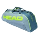 Head Tour Team Extreme 6R Combi Tennis Bag (Grey/Navy) - Head Tour Team Backpack and Bag Series