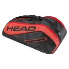 Head Tour Team 6R Combi Tennis Bag (Red/Black) - 6 Racquet Tennis Bags