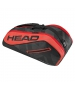 Head Tour Team 6R Combi Tennis Bag (Red/Black) - Head Tennis Bags