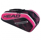 Head Tour Team 6R Combi Tennis Bag (Pink/Navy) - 6 Racquet Tennis Bags