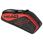 Head Tour Team 3R Pro Tennis Bag (Red/Black) - 3 Racquet Tennis Bags