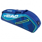 Head Tour Team 3R Pro Tennis Bag (Blue/Blue) - 3 Racquet Tennis Bags