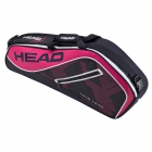 Head Tour Team 3R Pro Tennis Bag (Pink/Navy) - 3 Racquet Tennis Bags