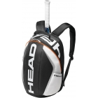 Head Tour Team Tennis Backpack (Blk/ Wht/ Org) - Head Tennis Bags