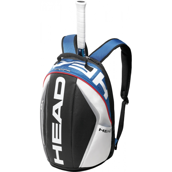 Head Tour Team Tennis Backpack (Nvy/ Wht/ Red)