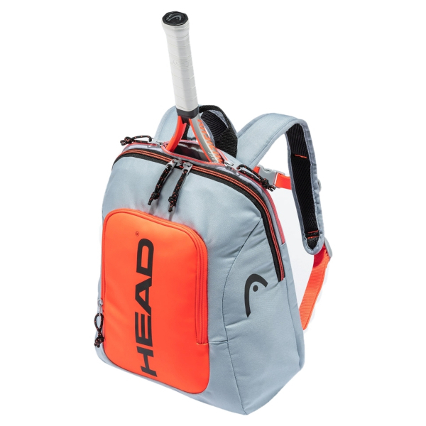 283491-GROR Head Kids Tennis Backpack Rebel (Grey/Orange)