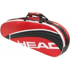 Head Core Pro Bag (Red/ Blk) - 3 Racquet Tennis Bags
