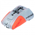 Head Radical 12R Monstercombi Tennis Bag (Grey/Orange) -