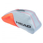 Head Radical 6R Combi Tennis Bag (Grey/Orange) -