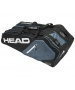 Head Core Combi Tennis Bag (Black/White/Grey) - New Head Racquets, Bags, and Hats