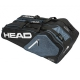Head Core Combi Tennis Bag (Black/White/Grey) - Core Series
