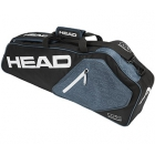 Head Core Pro Bag (Black/White/Grey) - 3 Racquet Tennis Bags