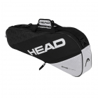 Head Elite 3R Pro Tennis Bag (Black/White) -