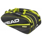 Head Extreme Monstercombi Bag (Blk/ Grn) - Racquet Bags