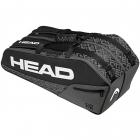 HEAD Core 6R Combi Tennis Racquet Bag (Black/Grey) -
