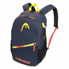 Head Club Pickleball Backpack (Navy/Red) - Pickleball Paddles, Balls, Bags and Court Equipment