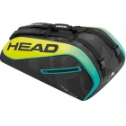 Head Extreme 9R Supercombi Tennis Bag (Black/Yellow) - Extreme Series